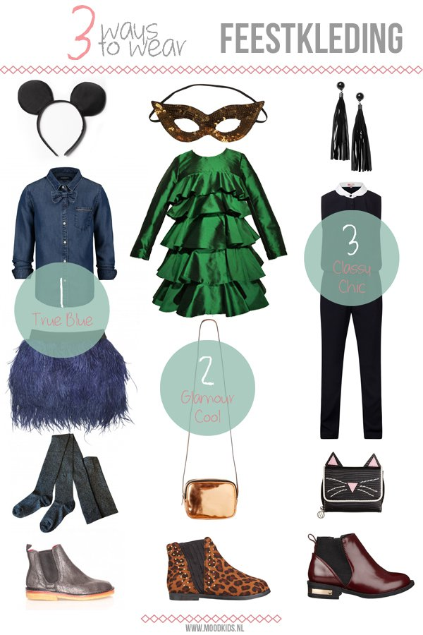 Kids - Moodkids - doctor fashion - blog - 3 ways to wear - girls - feestkleding